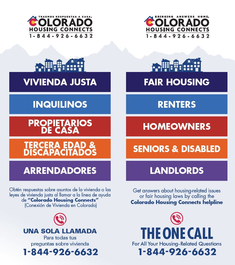 Colorado Housing Connects Information