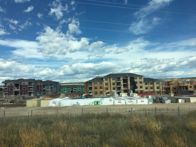 Copper Range Multifamily Project Construction Photo