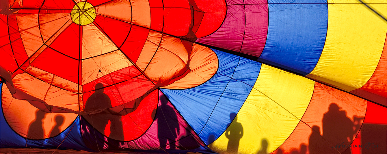 Attendees of Dave Snyder Balloon Festival